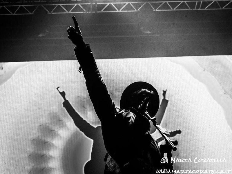 28 aprile 2016 - PalaLottomatica - Roma - Fabrizio Moro in concerto