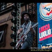 26 luglio 2015 - Lucca Summer Festival - Piazza Napoleone - Lucca - Gary Clark Jr. in concerto