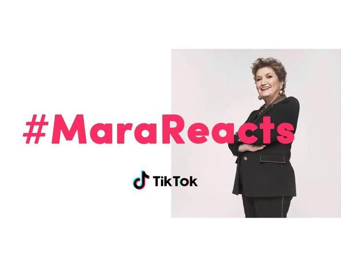 TikTok, Mara Maionchi lancia #MaraReacts