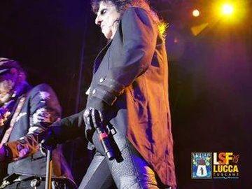 Hollywood Vampires - Alice Cooper, Johnny Depp e Joe Perry al Lucca Summer Fest