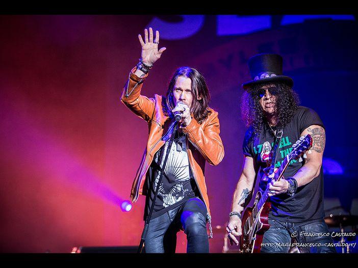 Slash a Milano: il report del concerto
