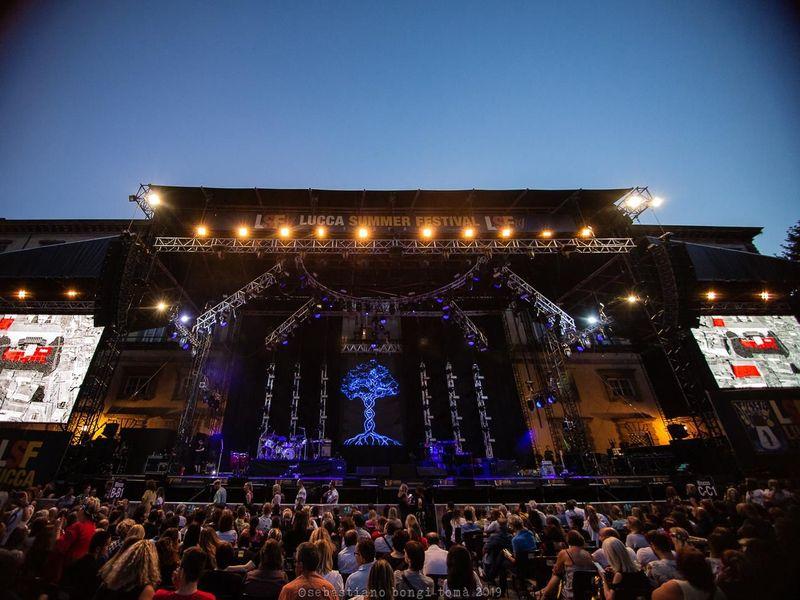 16 luglio 2019 - Lucca Summer Festival - Piazza Napoleone - Lucca - Eros Ramazzotti in concerto