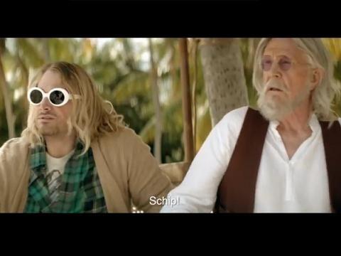Cobain, Elvis, Tupac e Lennon: 'li immortacci' in uno spot tv - VIDEO