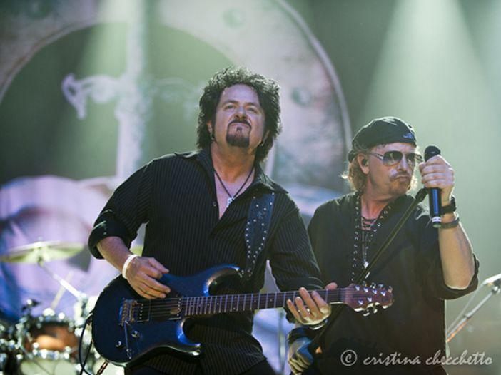 Toto: cambio di location per il concerto di Milano, il 3 luglio