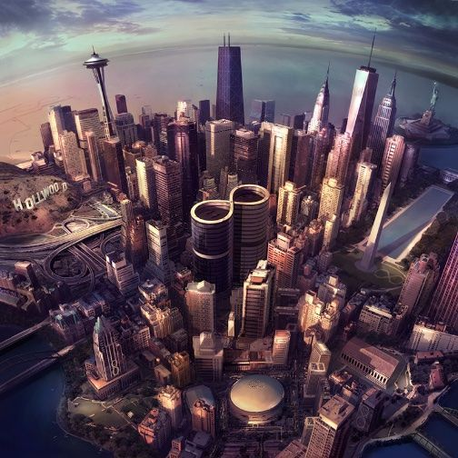 Go to the review of SONIC HIGHWAYS by Foo Fighters
