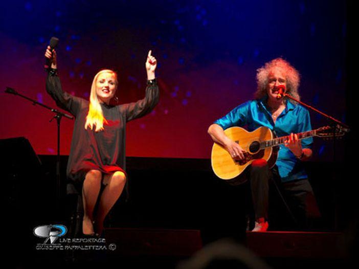Concerti, Brian May (Queen): sei date in Italia con Kerry Ellis a febbraio 2016