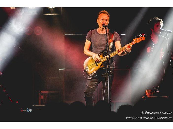 Sting, il report del concerto in Piazza Sordello a Mantova, 28 luglio 2017