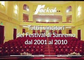 Tutti i vincitori del Festival di Sanremo dal 2001 al 2010