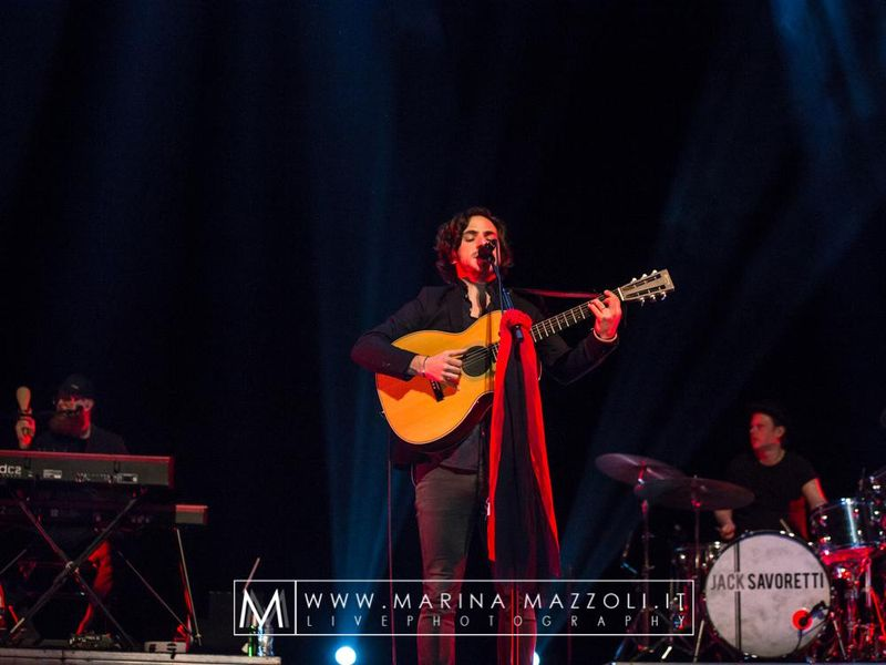 26 febbraio 2017 - Teatro Carlo Felice - Genova - Jack Savoretti in concerto