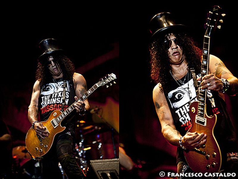 28 Luglio 2011 - Arena Civica - Milano - Slash in concerto