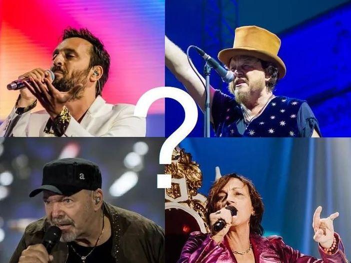 Riedizioni celebrative, il totonomi per l'anno che verrà: Lunapop, Zucchero, Vasco Rossi, Gianna Nannini o...?