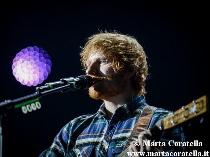 Ed Sheeran cuore d'oro: 'Inserii 'Thinking out loud' in 'X' per aiutare un'amica in difficoltà'