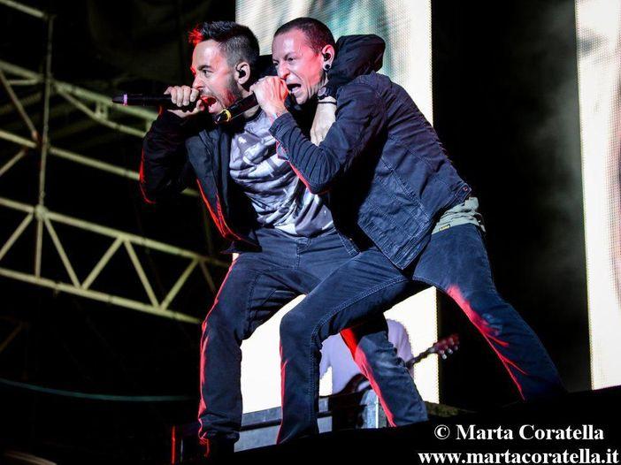 Linkin Park in concerto all'Ippodromo delle Capannelle di Roma - LIVE REPORT