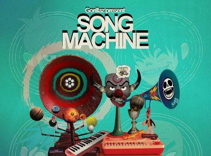 """La """"Song Machine"""" dei Gorillaz è il parco divertimenti seriale di Damon Albarn  - Voto 7/10"""