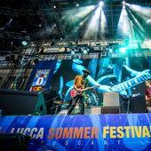 Gary Clark Jr. @ Lucca Summer Festival, 18 luglio 2018