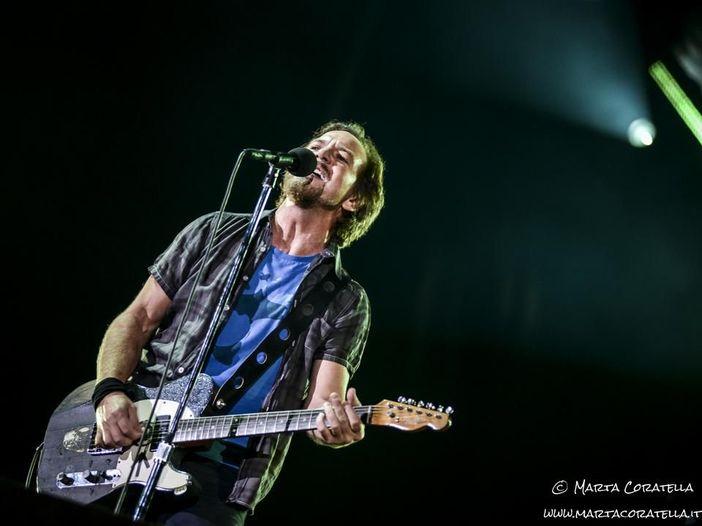 Eddie Vedder, un set a sorpresa all'Ohana Festival con Chad Smith (RHCP), Pino Palladino e Josh Klinghoffer