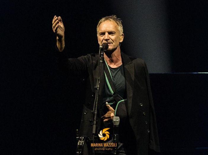 Sting, una canzone per l'Italia: 'Mi manca il mio paese preferito'
