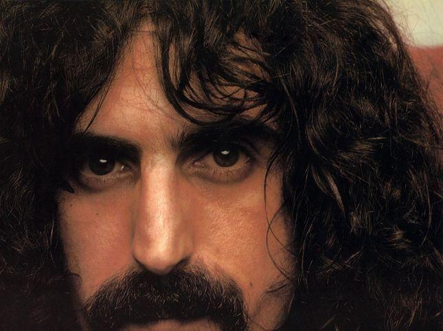 The Zappa motivo nero baffi colore