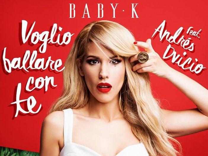 Baby K, il nuovo singolo 'Voglio ballare con te': l'ascolto di Rockol