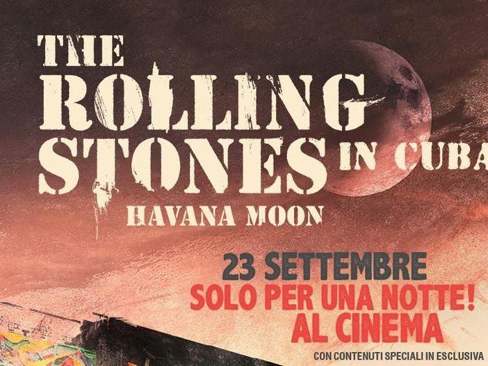 Rolling Stones a Cuba, 'Havana moon' nei cinema italiani il 23 settembre: guarda la fotogallery