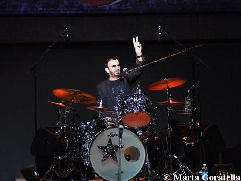 4 Luglio 2011 - Auditorium Parco della Musica - Roma - Ringo Starr in concerto