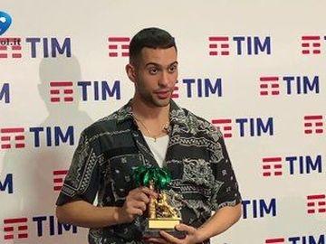 Mahmood - Il vincitore di Sanremo 2019 in sala stampa