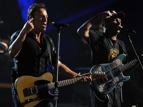 Bruce Springsteen, E Street Band: Tom Morello sostituto ad interim di Van Zandt
