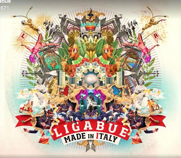 Ligabue: ecco la copertina del nuovo disco
