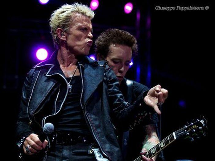 Concerti, Billy Idol: due date in Italia a giugno