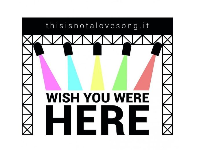 Wish You Were Here, l'arte grafica in sostegno ai live club italiani