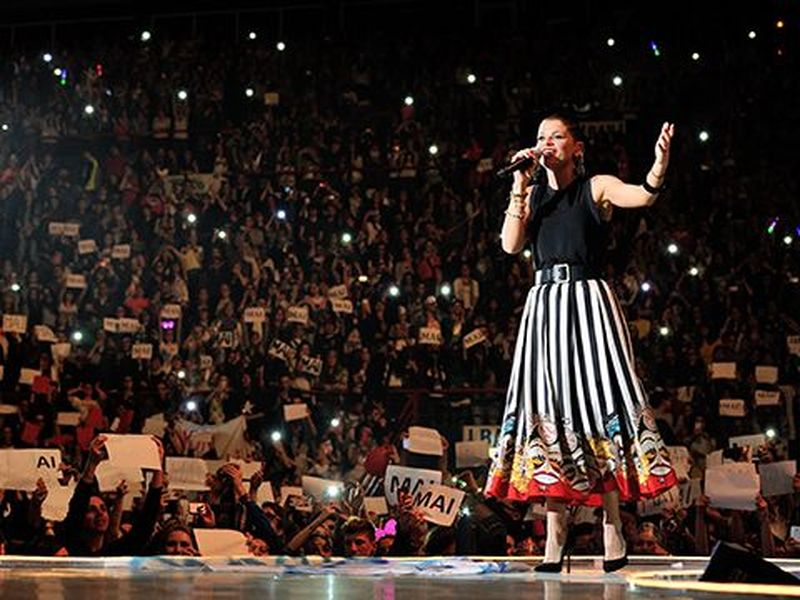 14 aprile 2014 - PalaFlorio - Bari - Alessandra Amoroso in concerto