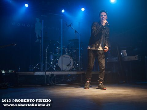 April 19th, 2013 - Magazzini Generali - Milano - Conor Maynard in concert