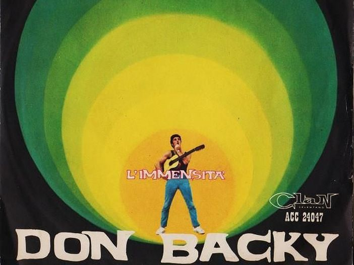 """Don Backy, la storia di """"L'immensità"""""""