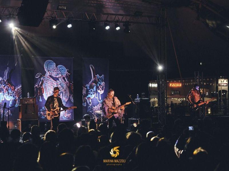 27 aprile 2019 - Porto Antico - Genova - Tre Allegri Ragazzi Morti in concerto