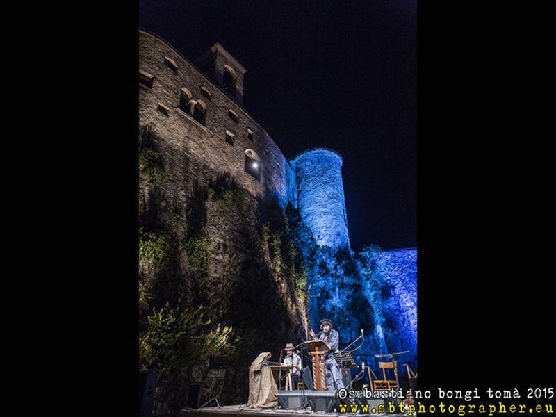5 giugno 2015 - Castello Malaspina - Massa - Vinicio Capossela