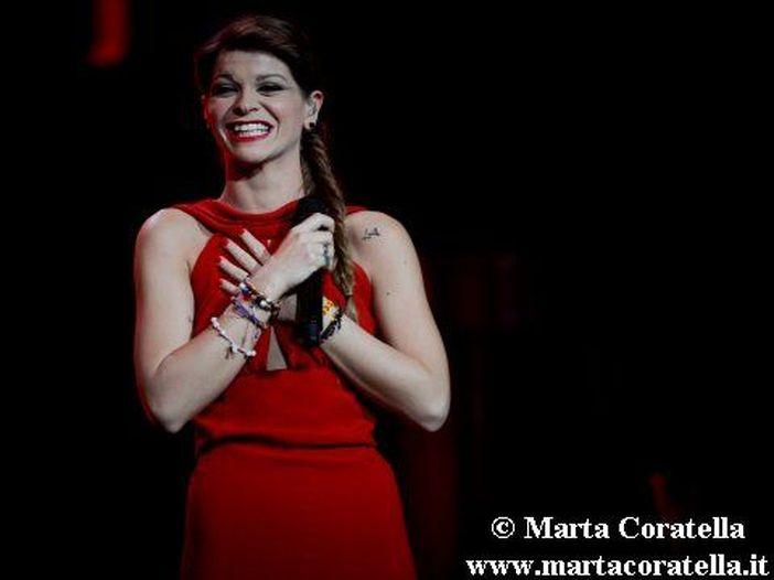 Alessandra Amoroso, debutto cinematografico nel film 'Io che amo solo te' di Marco Ponti (con Scamarcio, Placido, Littizzetto) - FOTO