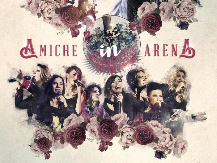 Amiche in Arena, esce l'11 novembre l'album dal vivo: tutti i dettagli - COPERTINA / TRACKLIST