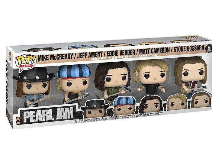 I Pearl Jam nella nuova serie di pupazzi Funko Pop