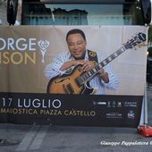 17 luglio 2017 - Piazza degli Scacchi - Marostica (Vi) - George Benson in concerto