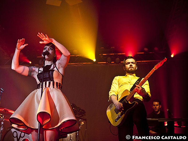 1 novembre 2012 - Magazzini Generali - Milano - Scissor Sisters in concerto