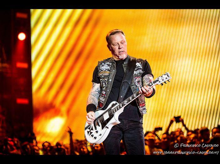 Metallica: in diretta streaming il concerto benefico per le vittime degli incendi in California