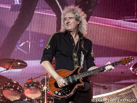 Brian May says Queen would be interested in headlining Glastonbury