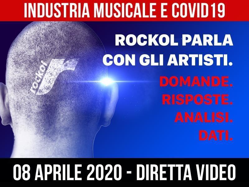 Industria musicale e Coronavirus: l'8 aprile Rockol parla con gli artisti (tutti) in live streaming