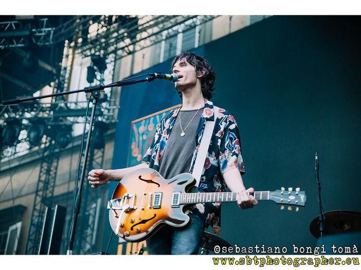 Lucca Summer Festival 2018, l'intervista a Nick Valensi (CRX) - VIDEO