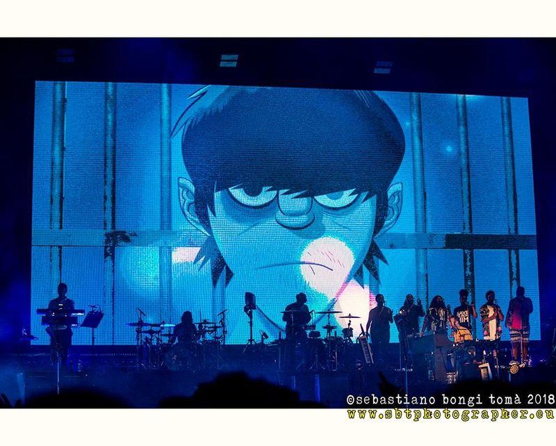 Gorillaz, il 12 e 13 dicembre il concerto virtuale Song Machine Live