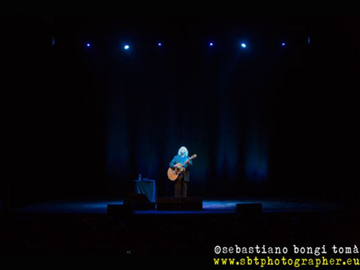 David Crosby, il rock con i baffi