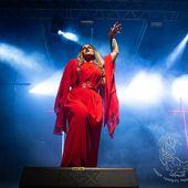 15 giugno 2019 - Langhe Rock Festival - Santo Stefano Belbo (Cn) - Lacuna Coil in concerto