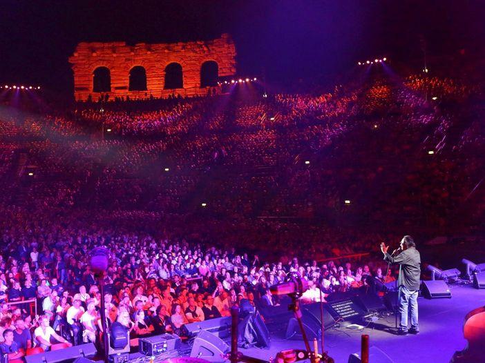 """Concerti all'Arena di Verona, Borgonzoni: """"Puntiamo alla piena capienza in via sperimentale"""""""