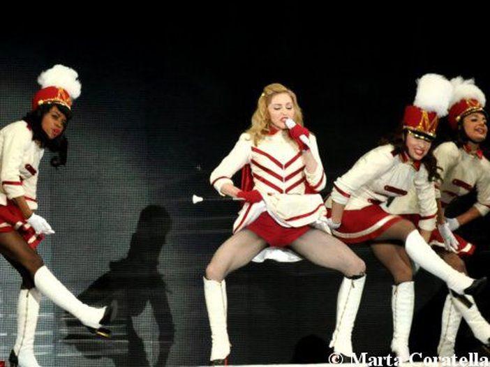 Madonna arriva a Roma a sorpresa