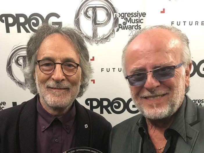 Progressive Music Awards 2018, alla PFM il premio 'Miglior artista internazionale dell'anno'